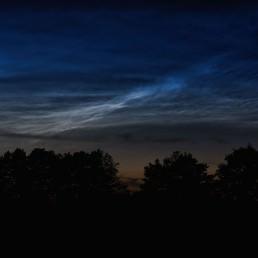 Obłoki srebrzyste | Noctilucent clouds | NLC 4